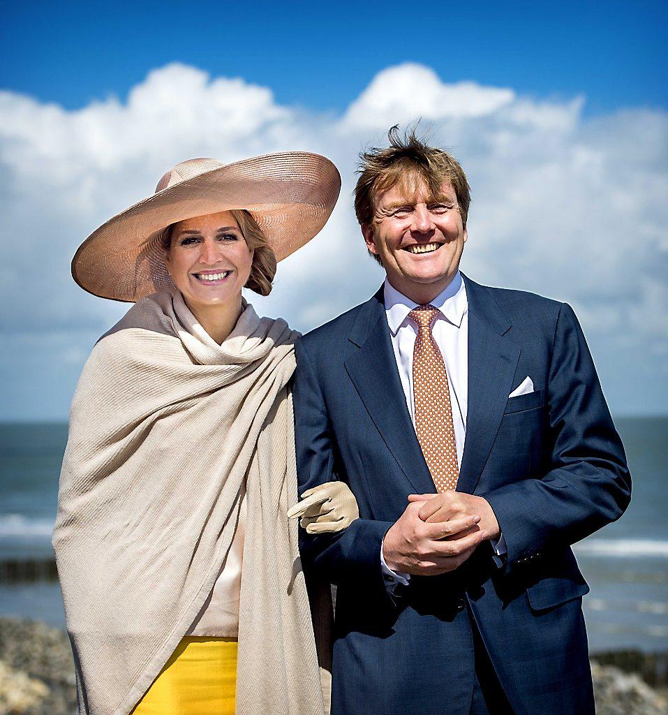 Koningspaar bezoekt Zeeuws Vlaanderen