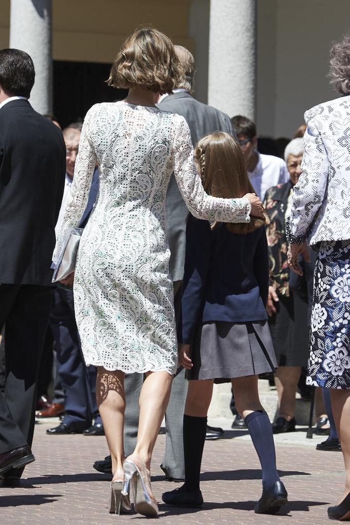 Spanish+Royals+Attend+Their+Daughter+leonor+WfyrtktGGPix