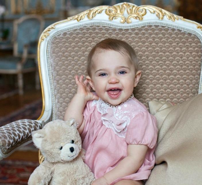 H.K.H Prinsessa Leonore fyller 1 år den 20 februari 2015. Fotografiet är taget i Sibyllas våning på Kungliga slottet i Stockholm.