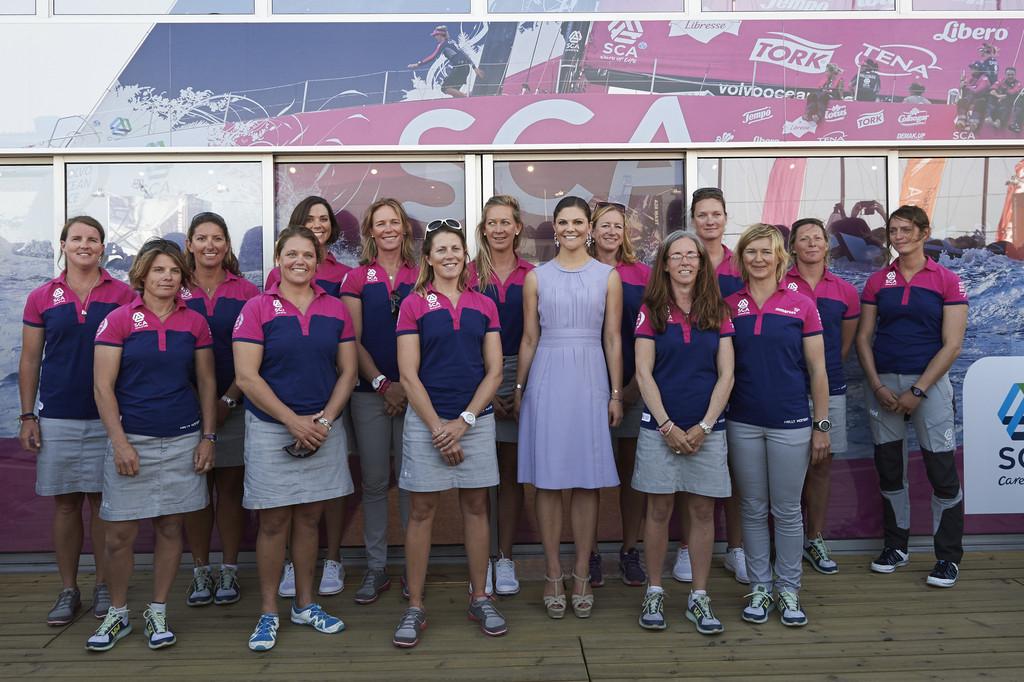 Victoria+Sweden+Attends+Volvo+Ocean+Race+Portugal+RpE9Zdv6pBdx