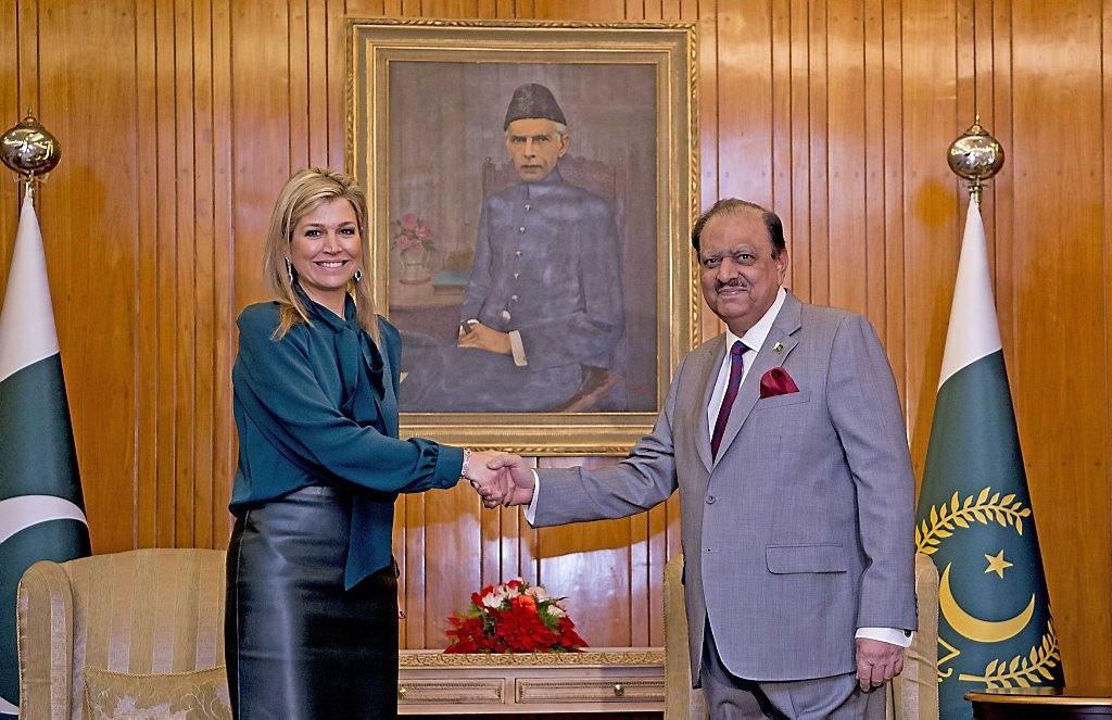 Koningin Maxima in Pakistan