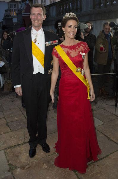 La-princesse-Marie-et-le-prince-Joachim-de-Danemark-a-Fredensborg-le-13-avril-2016
