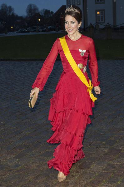 La-princesse-Mary-de-Danemark-a-Fredensborg-le-13-avril-2016