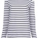 Ralph Lauren 'Tori' breton top