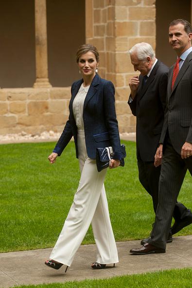 Spanish Royals Visit San Sebastian