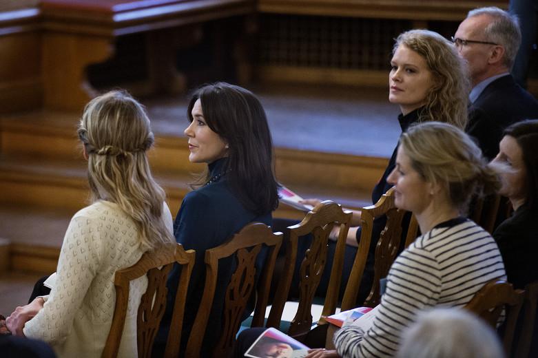 """Kronprinsesse Mary til konferencen """"Voldens Børn"""" afholdt af Mødrehjælpen, Kronprinsesse Mary"""
