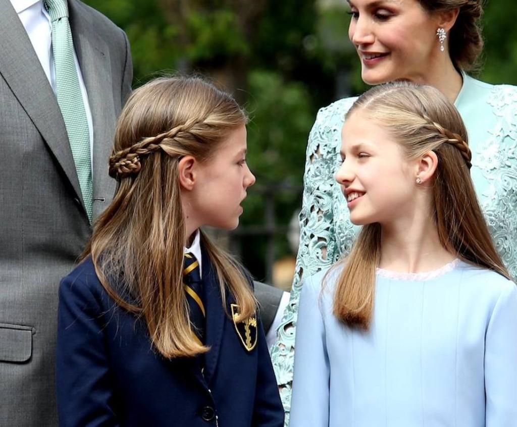 Spanish Royals Attend İnfanta Sofia S First Communion