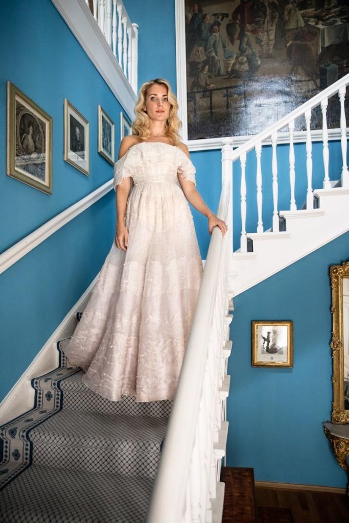 Ekaterina Malysheva Wore Three Sandra Mansour Dress At