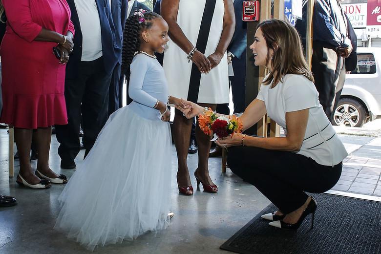 US-DENMARK, Kronprinsesse Mary