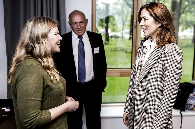 Kronprinsesse Mary forestår officiel indvielse af Hempel Kollegiet, Kronprinsesse Mary