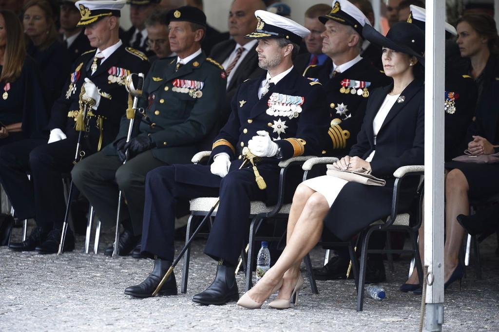 Flagdag for udsendte soldater
