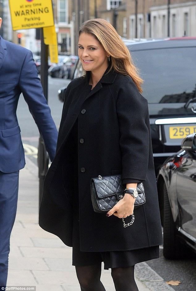Princess Madeleine Visit To The Swedish Embassy And