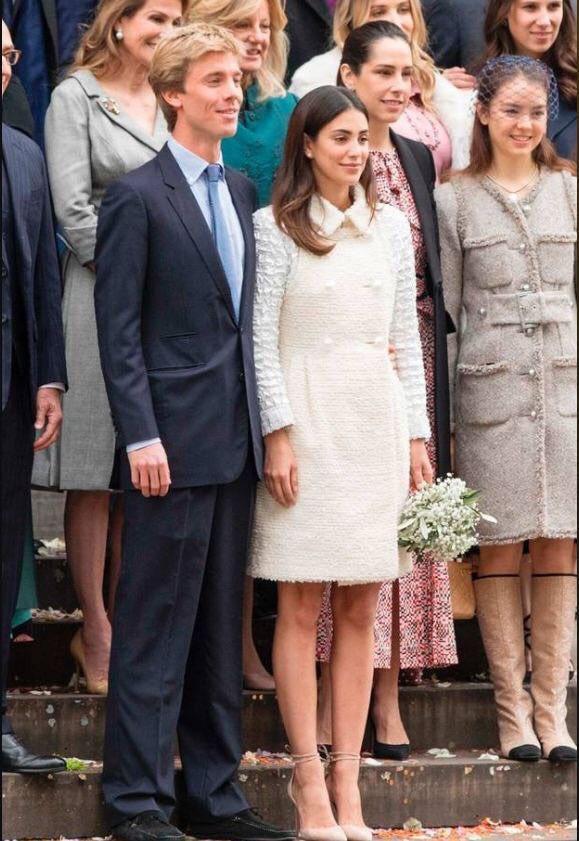 civil wedding of prince christian of hanover and alessandra de osma. Black Bedroom Furniture Sets. Home Design Ideas