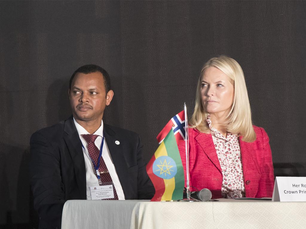 Kronprins Haakon og kronprinsesse Mette-Marit på offisielt besøk i Etiopia 7.-9. november 2017.