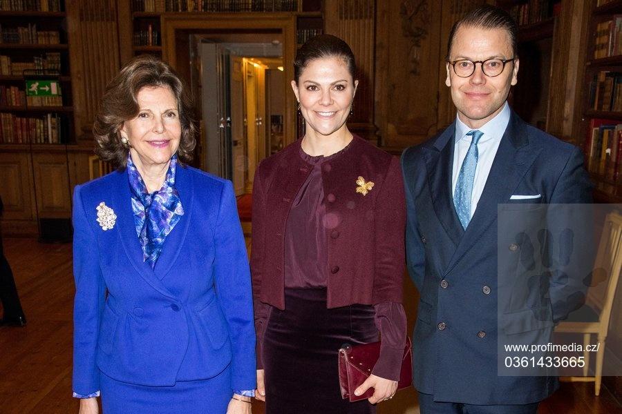 Crown Princess Victoria and Prince Daniel attended a seminar