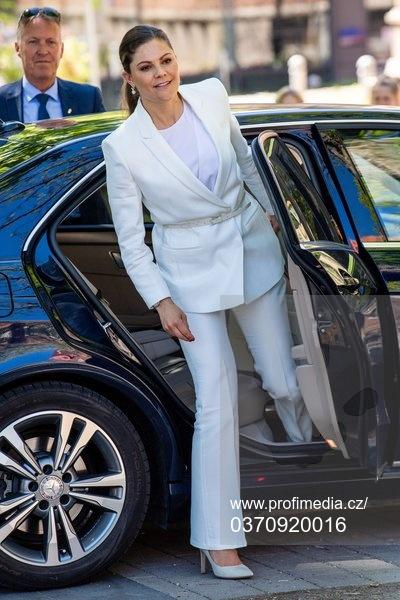 Kronprinsessan Victoria i Lund