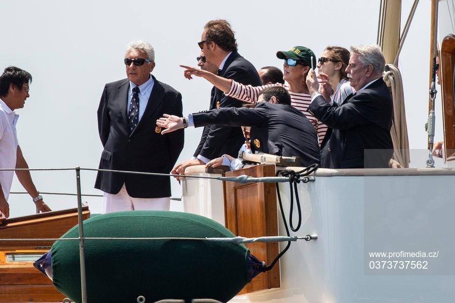 Imoca World Championship - Monaco Royals on the Yacht Pacha III