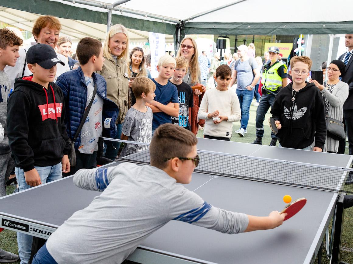 Mette-Marit åpner Mortensrud Festival.