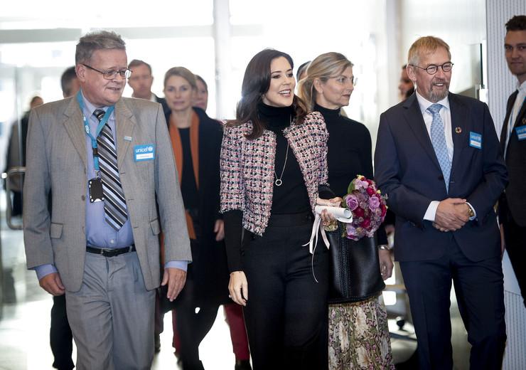 Kronprinsesse Mary deltager i Børnenes Dag hos UNICEF, tirsdag den 20 november 2018, Kronprinsesse Mary
