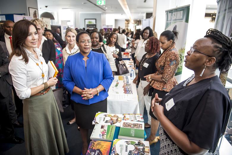 DENMARK: HRH Crown Princess Mary visits Kenya day 2 - DELIVER FOR GOOD