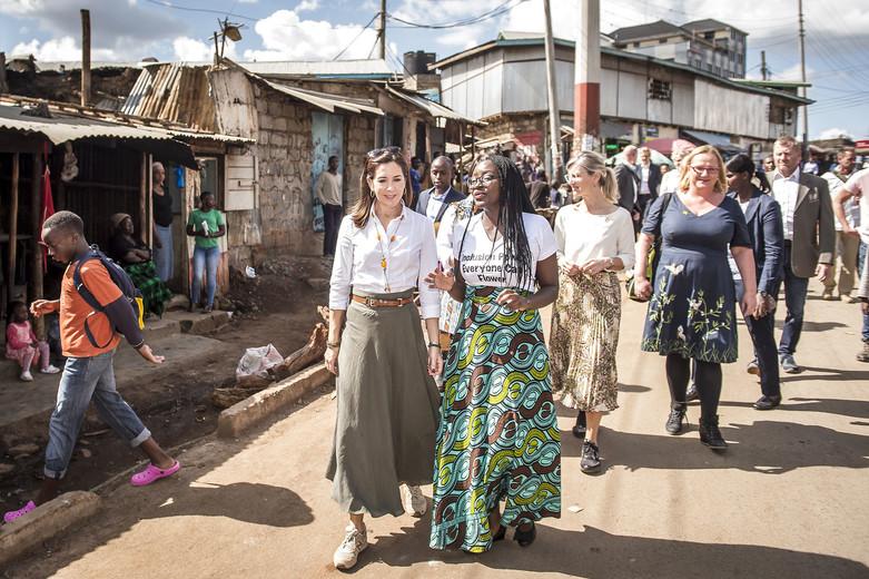 Kronprinsesse Mary er på arbejdsbesøg i Kenya, Kronprinsesse Mary, Kronprinsessen