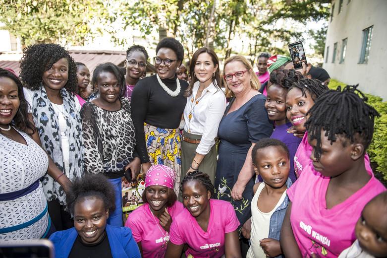 Kronprinsesse Mary er på arbejdsbesøg i Kenya, Kronprinsesse Mary