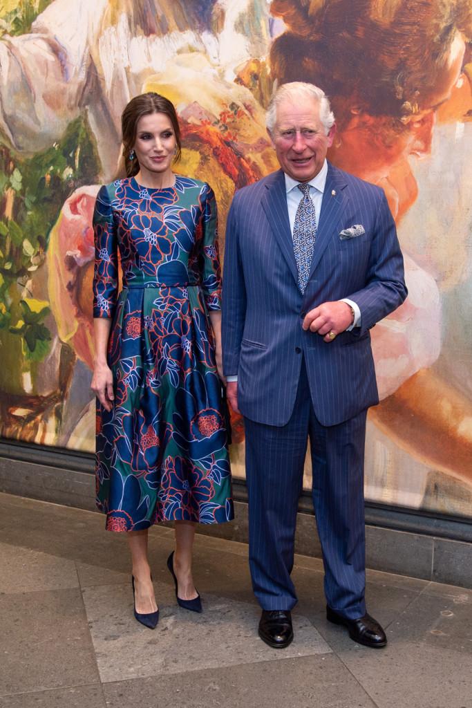Queen Letizia of Spain London Visit