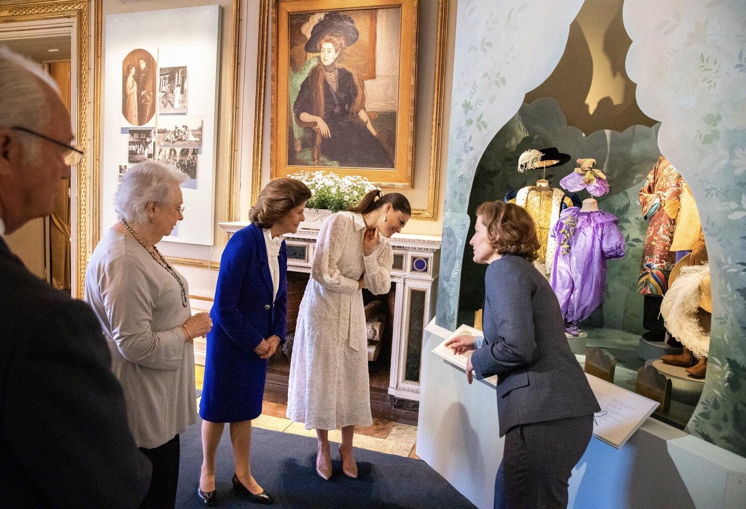 """""""Möt en prinsessa före sin tid. Daisy, kronprinsessan Margareta, 1882–1920. Utställningen visas på Kungliga slottet 6 juni – 30 september 2021"""""""